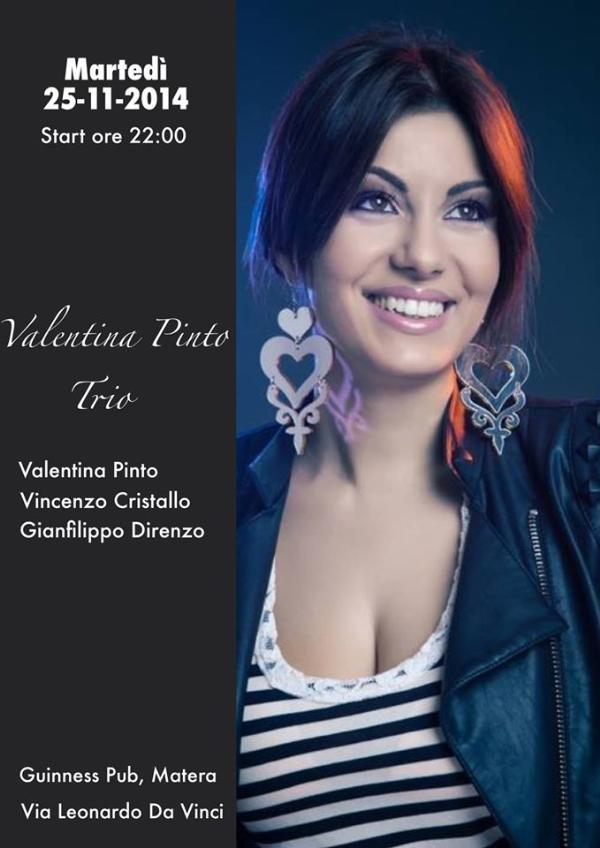 Valentina Pinto Trio - 25 Novembre 2014