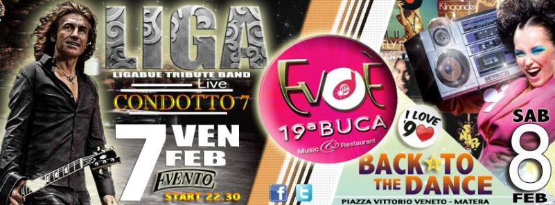 Weekend all´EVOè 19a Buca