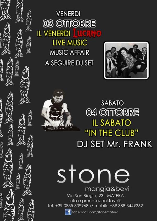 Weekend dello Stone - 3 e 4 ottobre 2014