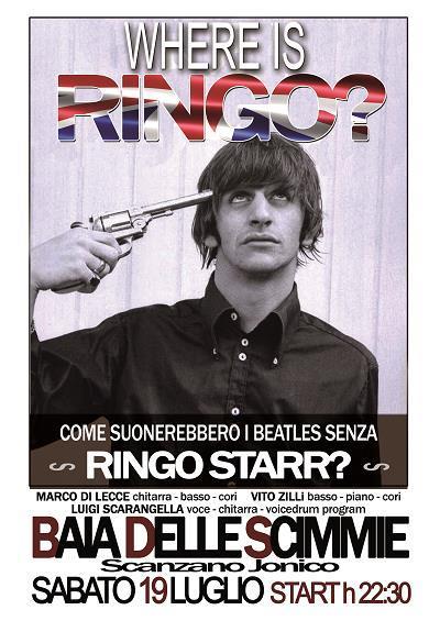 Where is Ringo? - Terza tappa - 19 Luglio 2014