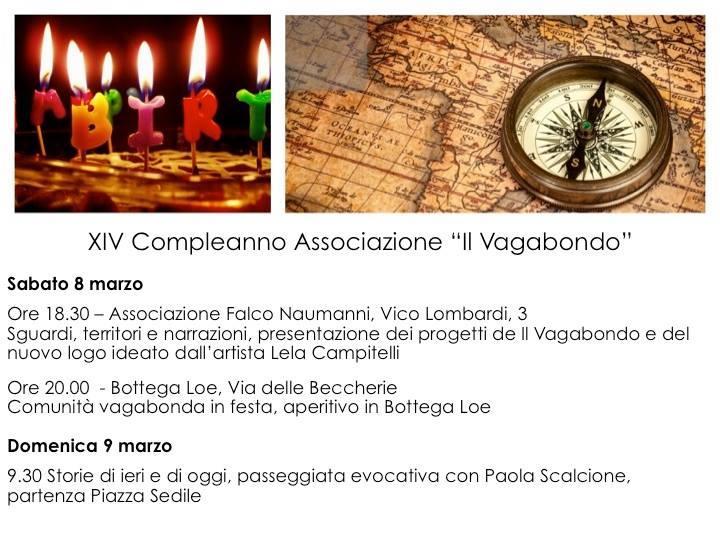 """XIV compleanno """"Il Vagabondo"""""""