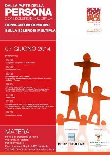 1° Convegno Regionale informativo sulla Sclerosi Multipla - 7 Giugno 2014 - Matera