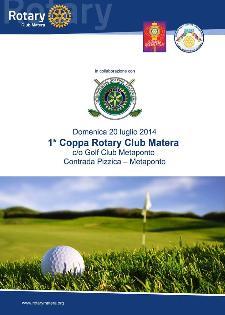 1° Coppa Rotary Club Matera - 20 Luglio 2014 - Matera