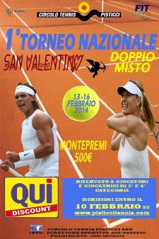 1° Torneo Nazionale di Doppio Misto San Valentino - Matera