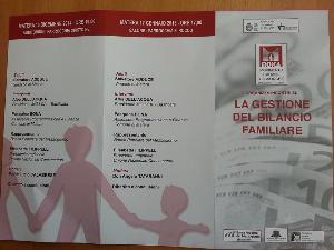 La gestione del bilancio familiare - Matera