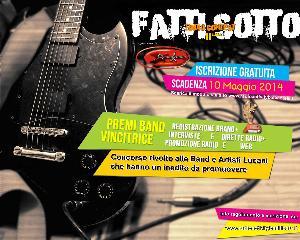 """2° Edizione di Radio Contest """"Fatti Sotto""""  - Matera"""