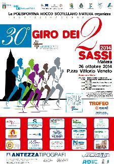 30° Giro dei due sassi - 26 Ottobre 2014 - Matera