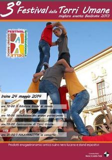 3° Festival delle Torri Umane  - Matera
