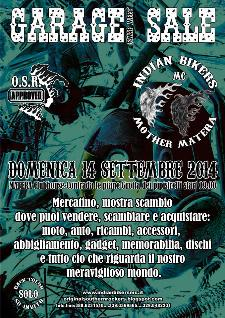 4° GARAGE SALE Swap Meet - 14 settembre 2014 - Matera
