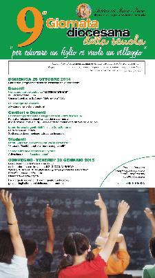 9° Giornata diocesana della scuola - 26 Ottobre 2014 - Matera