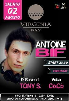 Antoine Bif & Cocò - 2 Agosto 2014 - Matera