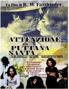 """""""Attenzione alla Puttana Santa"""" - Cineforum (foto di www.loschermo.it) - Matera"""