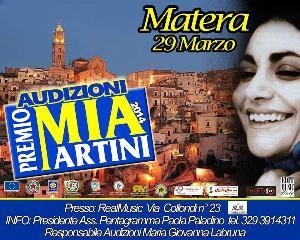 Audizioni Mia Martini 2014  - Matera