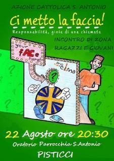 Azione Cattolica S. Antonio - Incontro Giovani del Territorio - 22 agosto 2014 - Matera