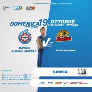 Bawer Matera vs Ravenna - 19 Ottobre 2014 - Matera