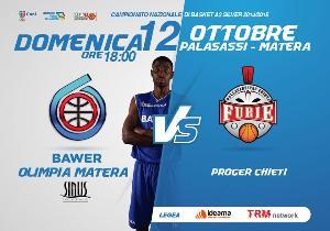 BAWER Matera Vs Teate Chieti - 12 Ottobre 2014 - Matera