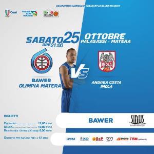 Bawer vs Imola  - Matera