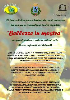 Bellezze in mostra - 28 giugno 2014 - Matera