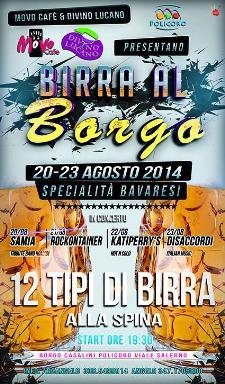 Birra al borgo 2014 - dal 20 al 23 agosto 2014 - Matera