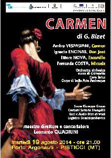 Carmen di G. Bizet  - Matera