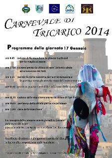 Carnevale di Tricarico 2014  - Matera