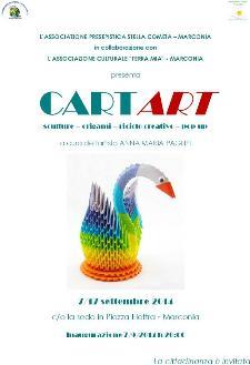 CartArt - magie di carta di Anna Maria Pagliei - dal 7 al 17 settembre 2014 - Matera