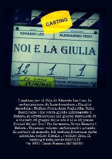 Casting per NOI E LA GIULIA - Matera