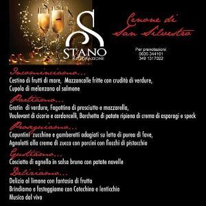 Cenone di San Silvestro al Ristorante Stano  - Matera