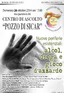 """Centro di ascolto """"Pozzo di Sicar""""  - 26 Ottobre 2014 - Matera"""