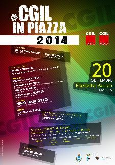 CGIL IN PIAZZA 2014 - 20 settembre 2014 - Matera