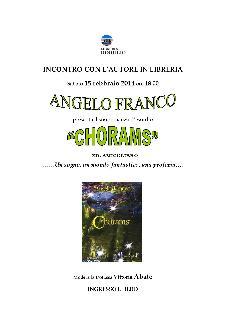 Chorams - 15 Febbraio 2014 - Matera