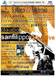 Claudio SANFILIPPO - Talk & Live - 22 Febbraio 2014 - Matera