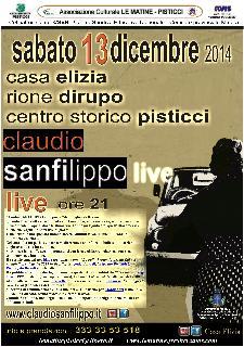 Claudio Sanfilippo in concerto - 13 Dicembre 2014 - Matera