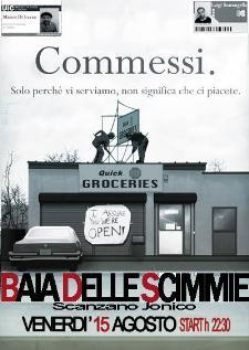 Commessi Live - 15 agosto 2014 - Matera