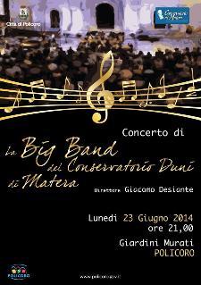"""Concerto """"Big Band del Conservatorio Duni di Matera""""  - Matera"""
