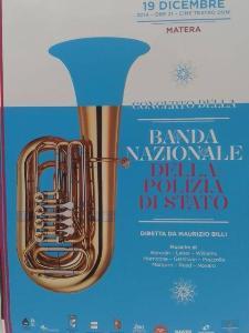 Concerto della Banda della Polizia di Stato - 19 Dicembre 2014 - Matera