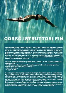 Corso di allievo istruttore di nuoto  - Matera