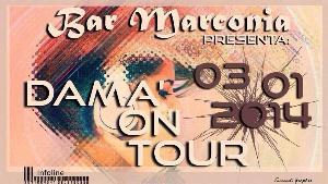 Dama' on Tour - 3 gennaio 2014 - Matera