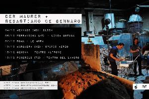 Der Maurer & Sebastiano De Gennaro live - 6 Dicembre 2014 - Matera