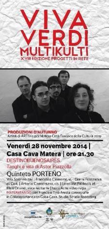 Destinobuenosaires - Vivaverdi Multikulti  - Matera