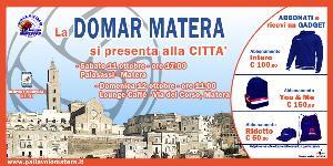 Domar Matera:la squadra si presenta alla città  - Matera
