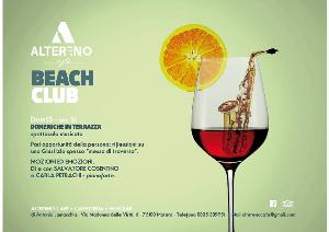Domeniche in terrazza - Altereno Beach Club - Matera