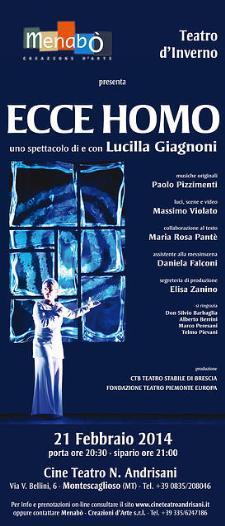 Ecce Homo (foto di www.cineteatroandrisani.it) - Matera