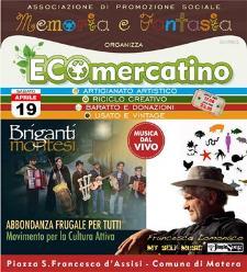 Eco - Mercatino - 19 Aprile 2014 - Matera