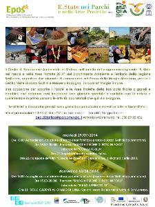 E..State nei Parchi e nelle Aree Protette 2014  - Matera