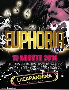 Euphoria Night - 10 Agosto 2014 - Matera