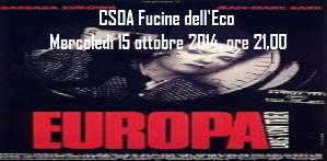 Europa di Lars Von Trier - Matera