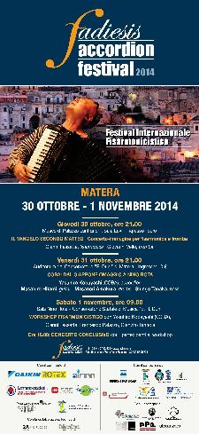 Fadiesis accordion festival 2014  - Matera