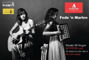 Fede'n'marlen - Saturday Sassi Night - 28 Giugno 2014 - Matera