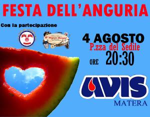 Festa dell'Anguria - 4 Agosto 2014 - Matera
